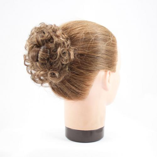 Clip In Hairpiece Curly Scrunchie 6cm Dance Hair